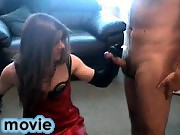 Kirsty gets a mouth and ass full of cock in this gangbang
